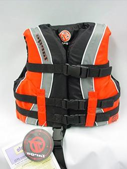 Bombardier Targa Kid's Nylon Life Jacket Vest PFD Child Oran