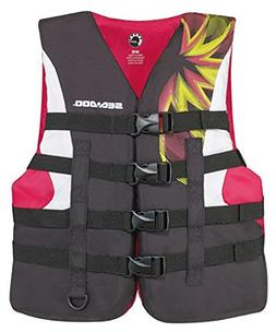 BRP Sea-Doo Women's 2015 Nylon Motion PFD Life Vest Jacket