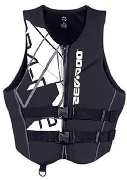 Sea-Doo BRP Men's Neoprene Freedom PFD Life Jacket Vest