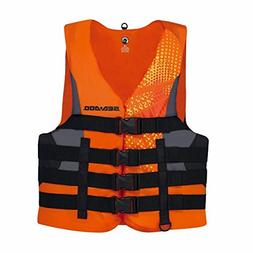 BRP Sea-Doo Men's Nylon Motion PFD Life Vest Jacket