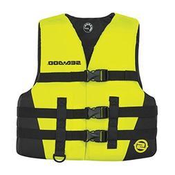 BRP Sea-Doo Kids' Nylon Sandsea Life Jacket Vest PFD YELLOW