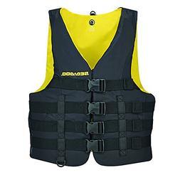 New BRP Sea-Doo Men's Nylon Motion PFD Life Vest Jacket-Adul