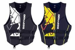 §BRP SeaDoo Men's Neoprene Freedom PFD Life Jacket Vest