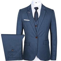 business suit slim fit notch