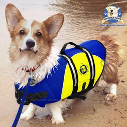 Paws Aboard BY1400 Neoprene Doggy Life Jacket, Medium