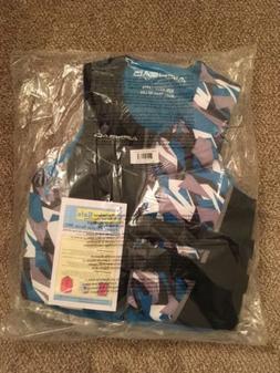 AIRHEAD CAMO COOL Men's Kwik-Dry Neolite Life Vest, Blue, La