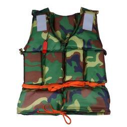 Camouflage <font><b>Life</b></font> Vest Water <font><b>Spor