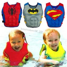 Cartoon Youth Children Universal Polyester Life Jacket Swimm
