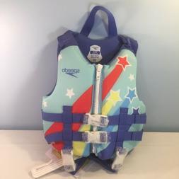 Speedo CB Child PFD Girls' Life Jacket Vest - Purple Dream