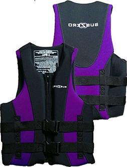 "Sub Zero neoprene & nylon Life Jackets XL 44"" - 50"" Chest Wo"