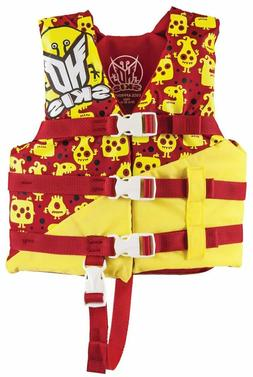 Child Life Vest Life Jacket 30-50 lbs HO Sports - USCG Appro