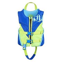 Full Throttle Child Rapid Dry Flex-Back Life Jacket