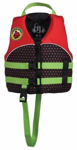 Full Throttle Child 'Water Buddies' Life Vest - Lady Bug