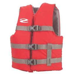 Child Youth 50-90 LB Red 3 Buckle Swimming Boating Water Spo