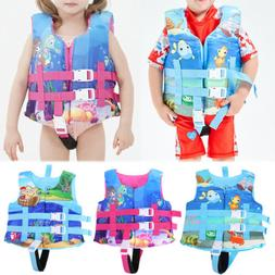 Children's Swimming Float Suit Swim Jacket Vest Life Jacket