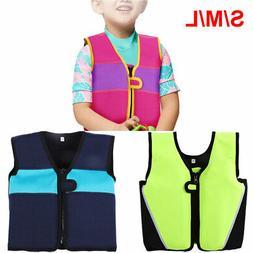 Children Swimming Float Suit Swim Jacket Vest Life Jacket Fo