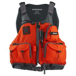 NRS Chinook Mesh Back Fishing PFD Life Jacket 2017