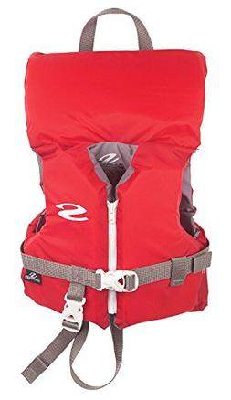 MyEasyShopping Classic Infant Life Vest - Up to 30lbs - Red,