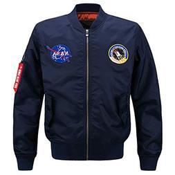 Hyunong Men's Classic Pilots Sports Casual Jackets Men's Air