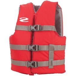 Stearns Classic Youth Life Jacket - 50-90lbs - Red/Grey 3000