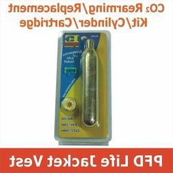 Life Jacket Rearming Kit Cartridge Cylinder Replacement Life