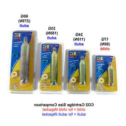 CO2 Rearming Kit for Automatic PFD Inflatable Life Jacket Ve