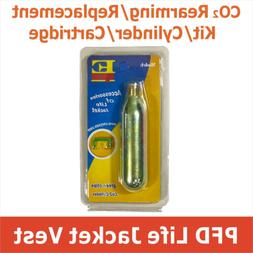 C-O-2 Rearming Kit for Manual Inflatable Life Jacket PFD Rep