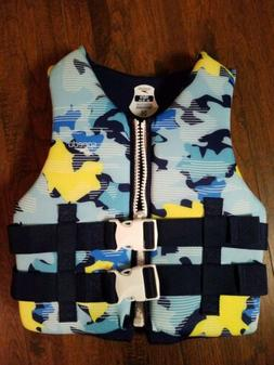 Speedo- Coast Guard Approved Life Jacket Youth 50-90lbs FREE