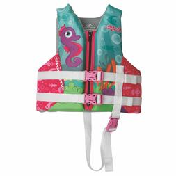 Coleman Puddle Jumper Child Hydroprene Life Jacket-Seahorse
