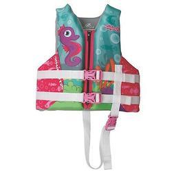 Coleman Puddle Jumper Child Hydroprene Life Jacket-Seahorse