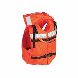 KENT Commercial Type I Jacket Style Life Jacket, Adult Over