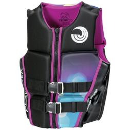 CWB Connelly Classic Neoprene Womens Large Coast Guard PFD L