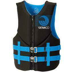 Connelly Men's Promo Neoprene Life Jacket, Black/Blue