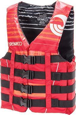 CWB Connelly Skis Men's 4 Buckle Nylon Vest, X-Large