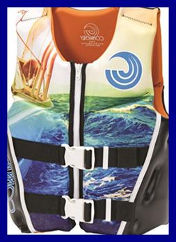"Connelly Youth Neoprene Vest, 24""-29"" Chest; 50-90Lbs, Conn"
