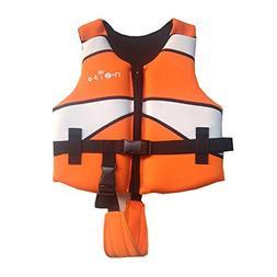 Cool Swim Vest Learn-to-Swim Floatation Jackets for Kids