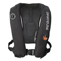 Mustang Survival Corp Elite Inflatable PFD , Black