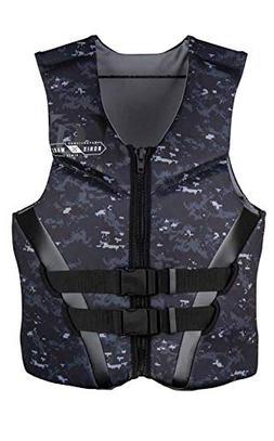 Ronix Covert CGA Life Vest Blk -xxlarge