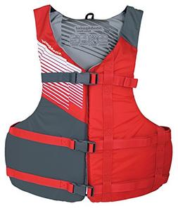 Stohlquist Crossfit Universal Red & Gray PFD - New Adult Lif