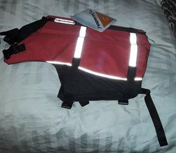 "Extrasport Deluxe Dog PFD Life Vest Red Med. MD: Girth 26"" t"