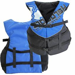 Hardcore Deluxe Adult Life Jacket PFD Type III Coast Guard S