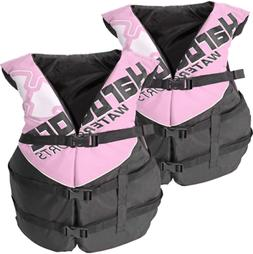Women's Deluxe Pink Adult Life Jacket PFD Type III Coast Gua