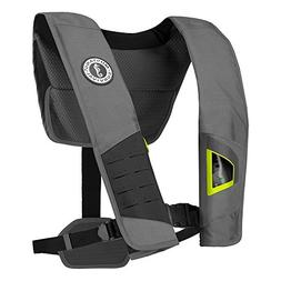 MyEasyShopping DLX 38 Deluxe Manual Inflatable PFD - Gray/Fl