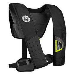 MyEasyShopping DLX 38 Deluxe Manual Inflatable PFD - Black/F