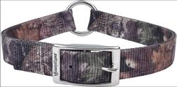 Remington Dog Center Ring Double Ply Hunting Collar CAMO & O
