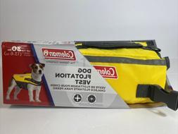 Coleman Dog Flotation Vest Life Jacket w/Rescue Handle for D