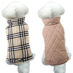 MIGOHI Dog Jackets for Winter Windproof Waterproof Reversibl