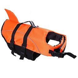 Dog Life Jacket Large ,Dogs Life Vests For Swimming Extra La