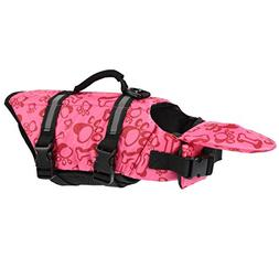 Dog Life Jacket Extra Large Neon Swimming Jackets for Pets -