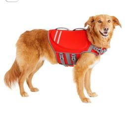 FRISCO Dog Life Jacket or Vest, Reflective & Red, Large - NW